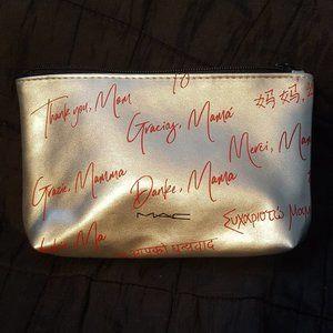 MAC Silver Mom Appreciation Makeup Bag